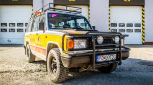 Odťahová služba Prešov vozidlo Isuzu