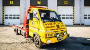 Odťahová služba Prešov vozidlo Renault